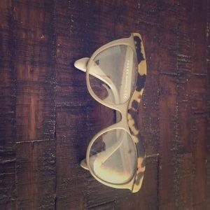 Adorable cat eye Prada clear glasses